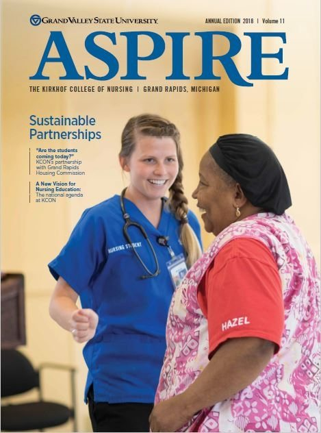 Image of ASPIRE Magazine Cover