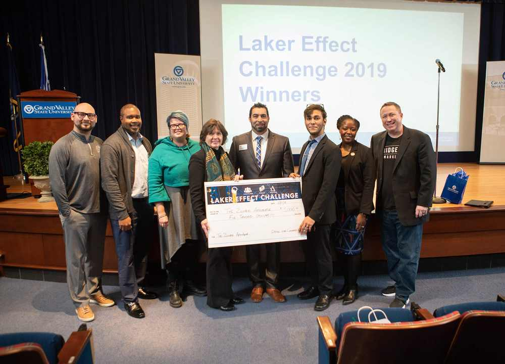 Grand Valley's Nursing College Rises to the Laker Effect Challenge