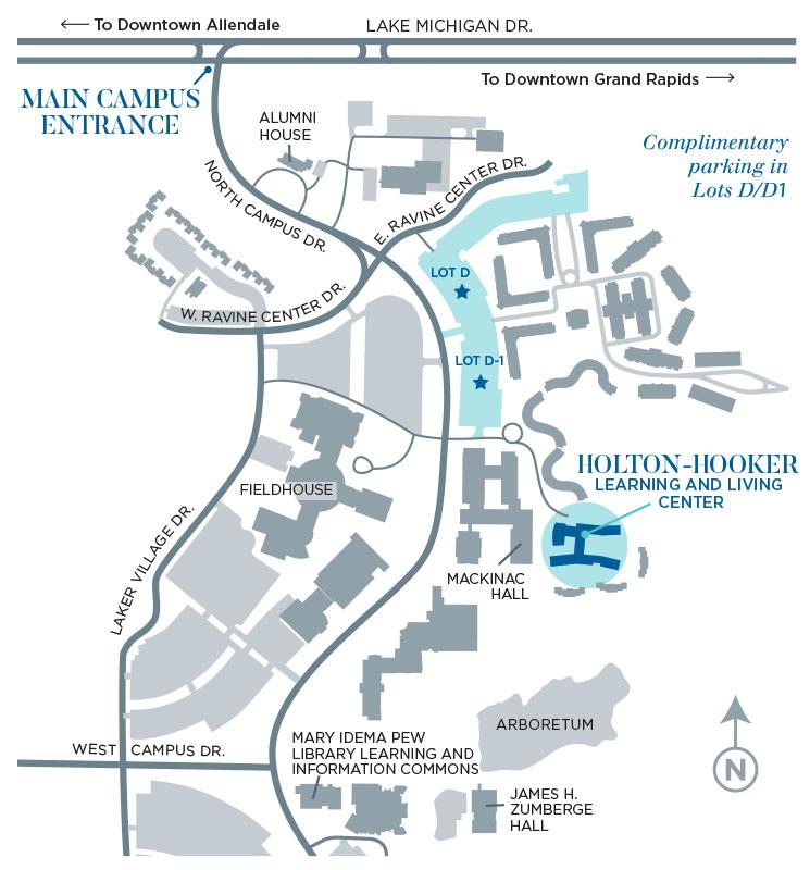 Gvsu Grand Rapids Campus Map.Campus Map