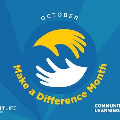 Make a Difference Month Drop-In Service