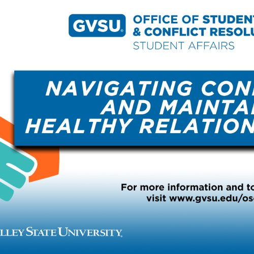 Navigating Conflict and Maintaining Healthy Relationships Workshop