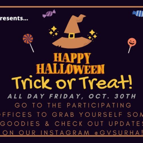 Campus-wide Trick or Treat!