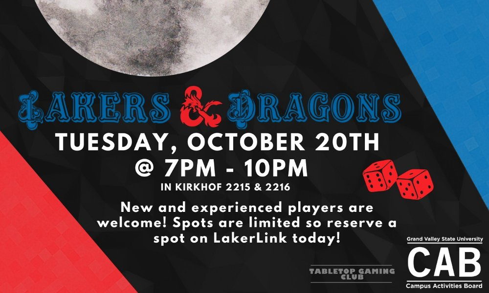 Lakers & Dragons: Dungeons & Dragons Night
