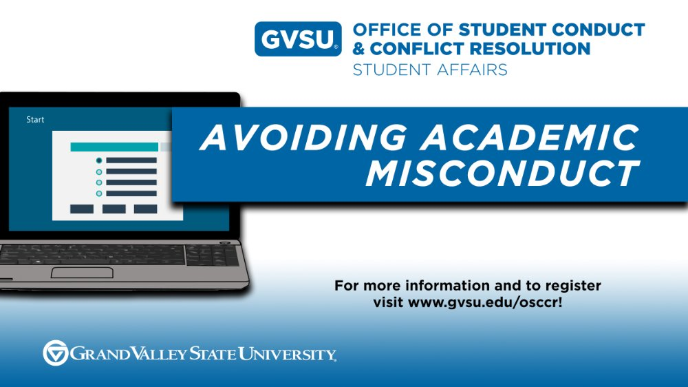 Avoiding Academic Misconduct