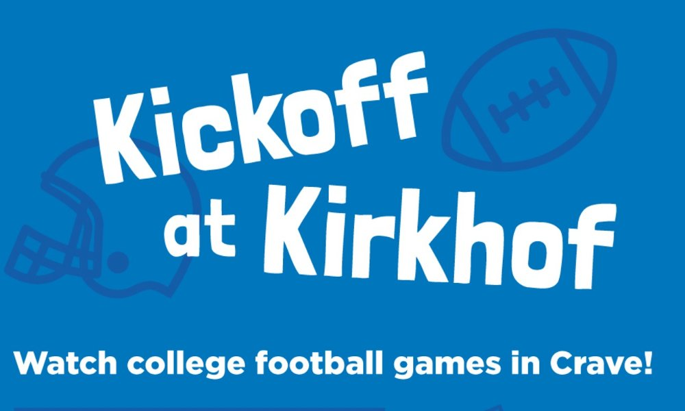 Kickoff in the Kirkhof with Alpha Epsilon Pi