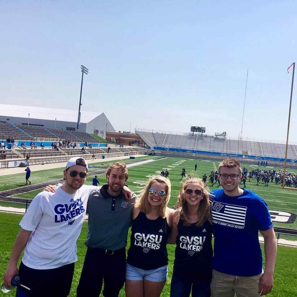 GVSU Athletics Intern