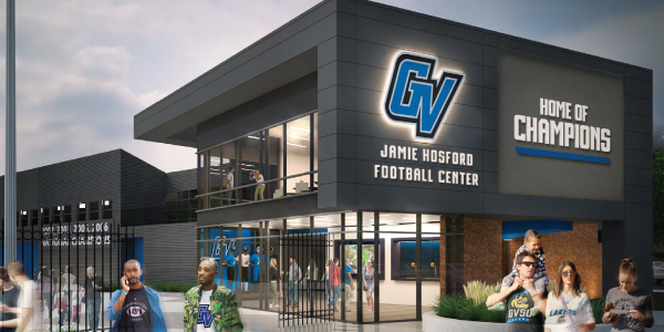 Rendering of the Jamie Hosford Football Center