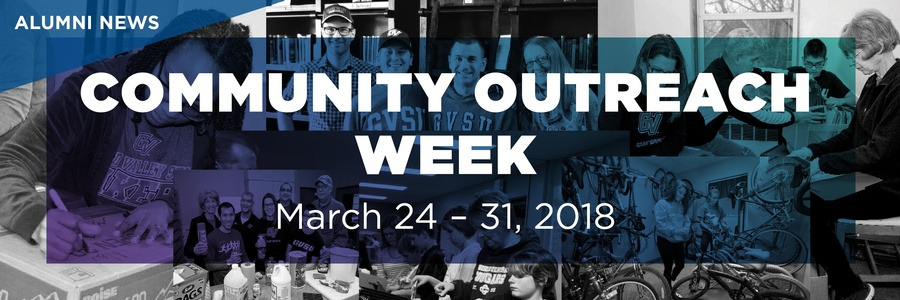 Community Outreach Week Alumni News