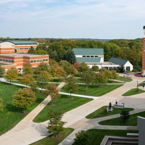 Photo of the Allendale Campus.