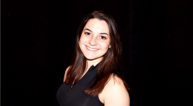 Allison Egrin, president of Hillel at GVSU, will speak as the Jewish representative during the Abrahamic Dinner.
