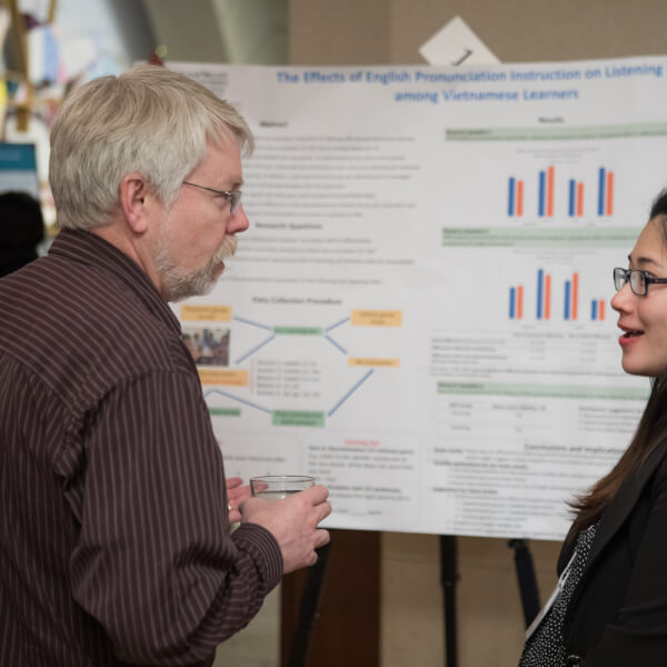 The 9th annual Graduate Showcase was held April 15.
