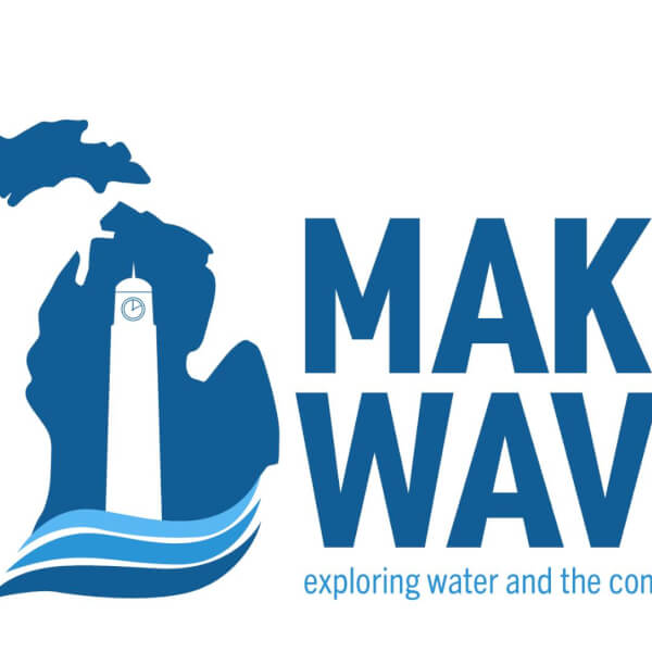 logo for Making Waves