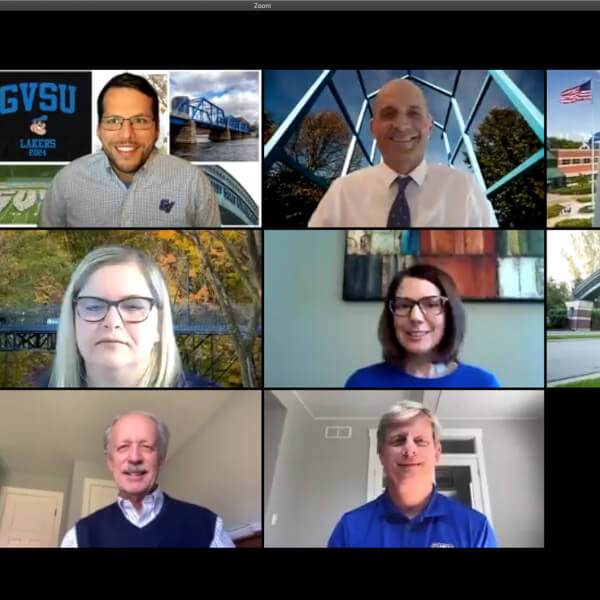 Grand Valley leaders conducted a virtual town hall.