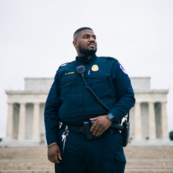 Capitol Police Officer Deon Atkins