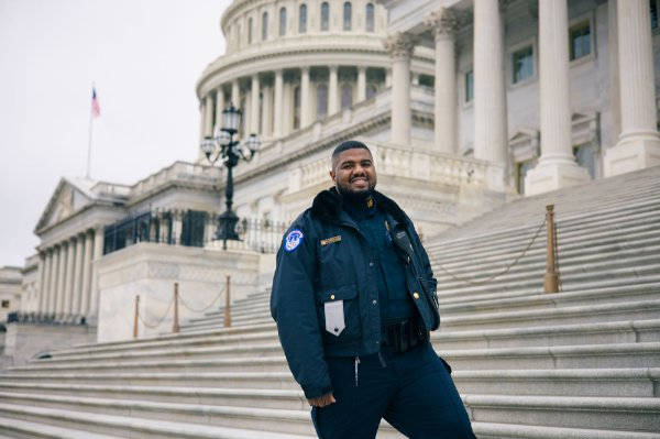 Capitol Police Officer Deon Atkins.