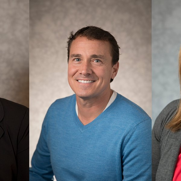 headshots of Patti Eisen, Daniel Giedeman and Kelly Machnik