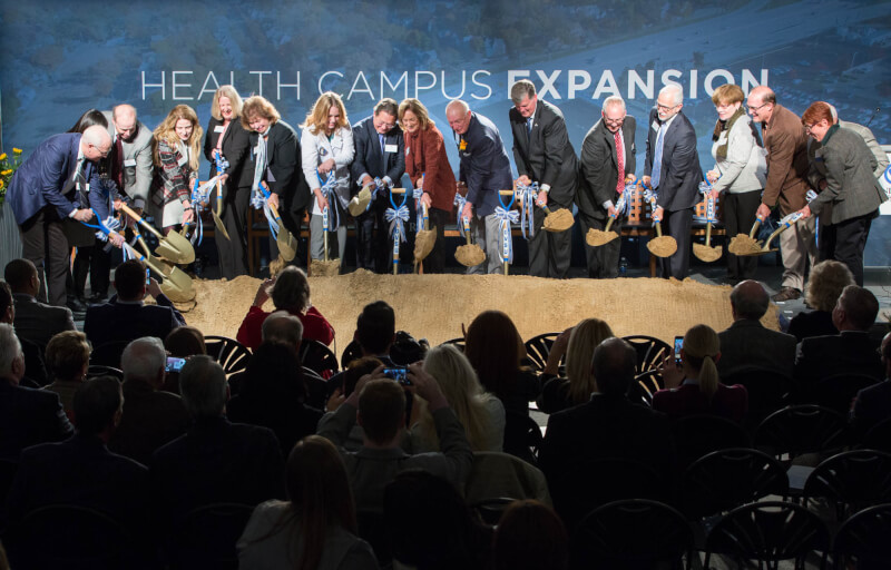 Groundbreaking for health campus expansion
