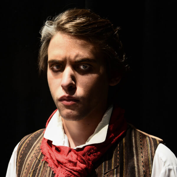 Photo of Max Elkiss as Sweeney Todd