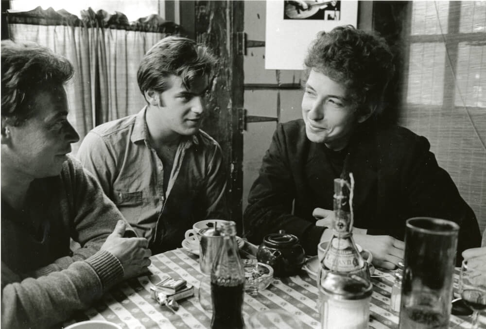 A photo featuring Bob Dylan