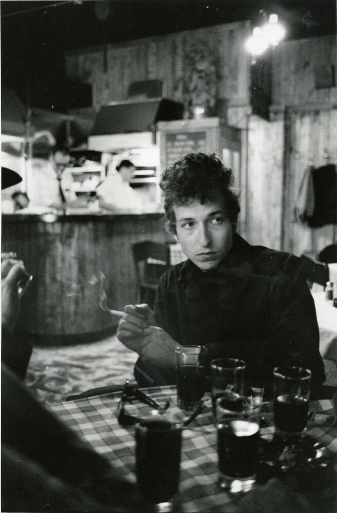 A photo of Bob Dylan