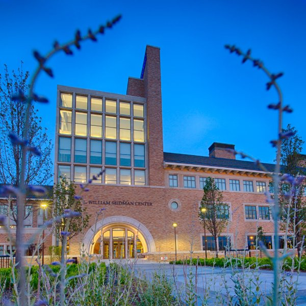 Photo of the L. William Seidman Center on the Pew Grand Rapids Campus..