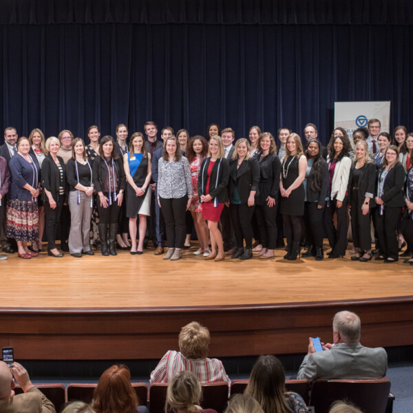The Graduate School recognized more than 50 graduate students with Dean's Citation Awards during a celebration in April on the Pew Grand Rapids Campus.