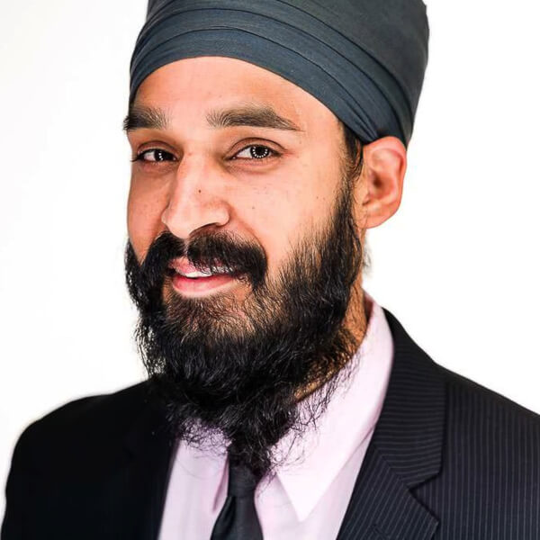 Photo of Simran Jeet Singh, assistant professor of religion at Trinity University and senior religion fellow with the Sikh Coalition