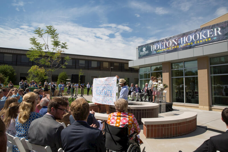 Dedication for Holton-Hooker Learning and Living Center