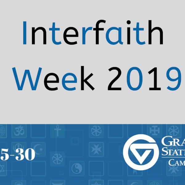 web banner for campus interfaith week
