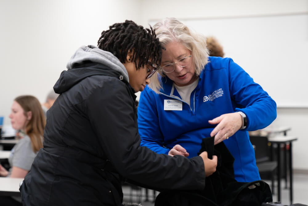 Volunteers at the Repair Clinic have done hundreds of fixes for students since 2017.