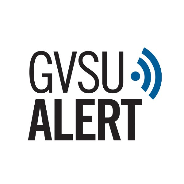 Graphic of GVSU Alert