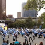 No better way to start &#x40&#x3b;ArtPrize than with the &#x40&#x3b;GVSU Laker Marching Band&#x21&#x3b; https&#x3a&#x3b;&#x2f&#x3b;&#x2f&#x3b;t.co&#x2f&#x3b;OVdBrWwdnm